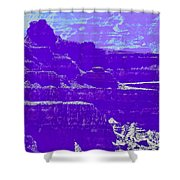 Grand Canyon Purples Shower Curtain