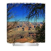 Grand Canyon - South Rim 1  Shower Curtain