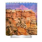 Grand Canyon South Rim Shower Curtain
