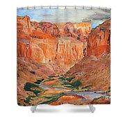 Grand Canyon Splendor Shower Curtain