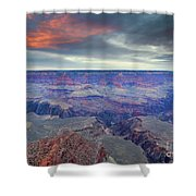 Grand Canyon Storm Set Shower Curtain