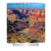 Grand Canyon Sunset Shower Curtain by Robert Bales