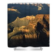 Grand Canyon Symphony Of Light And Shadow Shower Curtain by Bob Christopher