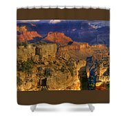 Grand Canyon - The Wonders Of Light And Shadow - 1a Shower Curtain