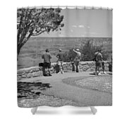 Grand Canyon Tourism Shower Curtain