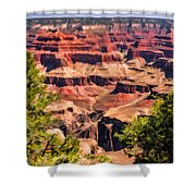 Grand Canyon Valley Shower Curtain
