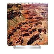 Grand Canyon Valley Depths Shower Curtain