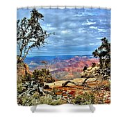 Grand Canyon View IIi Shower Curtain