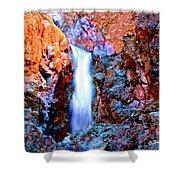 Grand Canyon Waterfall Shower Curtain