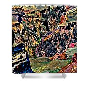 Grand Canyon Yaki Viewpoint Shower Curtain