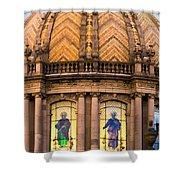 Grand Cathedral Of Guadalajara Shower Curtain