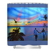 Grand Cayman Islanders Shower Curtain