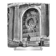 Grand Central Christmas Shower Curtain