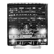 Grand Central Pan Am Building Shower Curtain