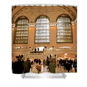 Grand Central 's Main Terminal Shower Curtain