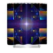 Grand Central Star Station Shower Curtain
