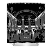 Grand Central Terminal Poster Shower Curtain