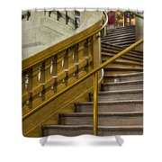 Grand Central Terminal Staircase Shower Curtain