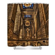 Grand Central Terminal Station Chandeliers Shower Curtain