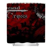 Grand Cross Poster Art Shower Curtain