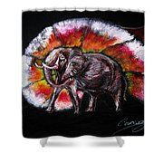 Grand Designs For Life On Earth Shower Curtain
