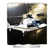 Grand Flying Shower Curtain