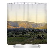 Grand Forks View From The West Shower Curtain