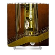 Grand Foyer Staircase Shower Curtain