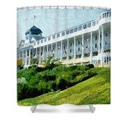 Grand Hotel Mackinac Island Ll Shower Curtain