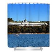 Grand Hotel Mackinac Island Shower Curtain