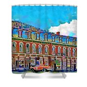 Grand Imperial Hotel Shower Curtain by Jeff Kolker