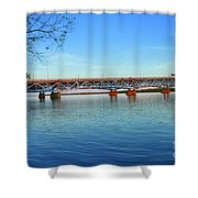 Grand Island Bridge 2 Shower Curtain
