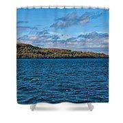 Grand Island Lake Superior Shower Curtain