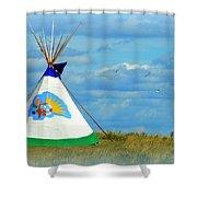 Grand Lodge Shower Curtain