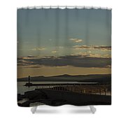 Grand Marais Mn Lighthouse 5 Shower Curtain