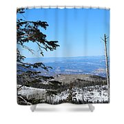 Grand Mesa Co North Side Valley View Shower Curtain