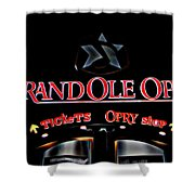 Grand Ole Opry Entrance Shower Curtain