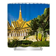 Grand Palace - Cambodia Shower Curtain