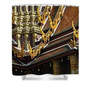 Grand Palace Bangkok Thailand 2 Shower Curtain