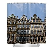 Grand Place Brussels Shower Curtain
