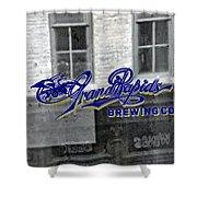 Grand Rapids Brewing Shower Curtain