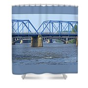 Grand Rapids Crossings Shower Curtain