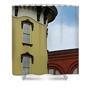 Grand Rapids Downtown Architecture Shower Curtain