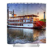 Grand Romance Riverboat Shower Curtain