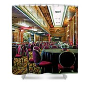 Grand Salon 05 Queen Mary Ocean Liner Extreme Shower Curtain