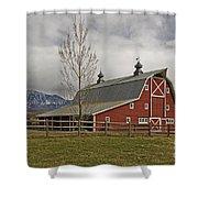 Grand Scenic Farm Shower Curtain