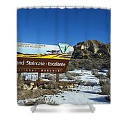 Grand Staircase-escalante National Monument Shower Curtain