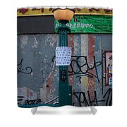 Grand Street Subway Station In Chinatown Manhattan Shower Curtain