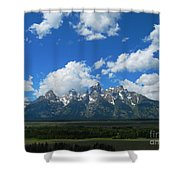 Grand Teton National Park Shower Curtain