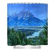 Grand Teton  - Snake River Overlook  Shower Curtain